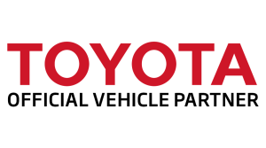 Official vehicle partner TOYOTA