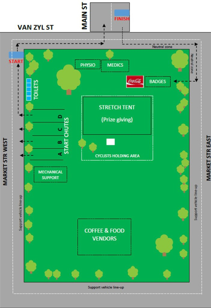 Venue lay out final